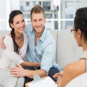 Casal tratando uma psicopatologia
