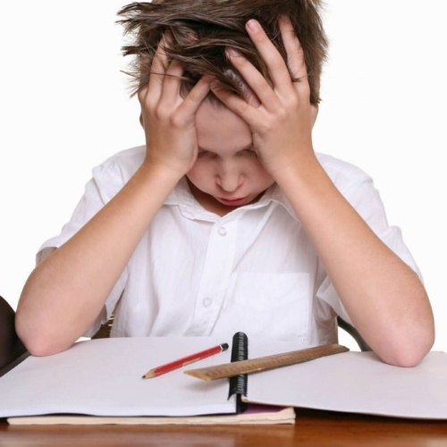Criança com distúrbios psicológicos