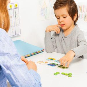 Criança numa Terapia Infantil